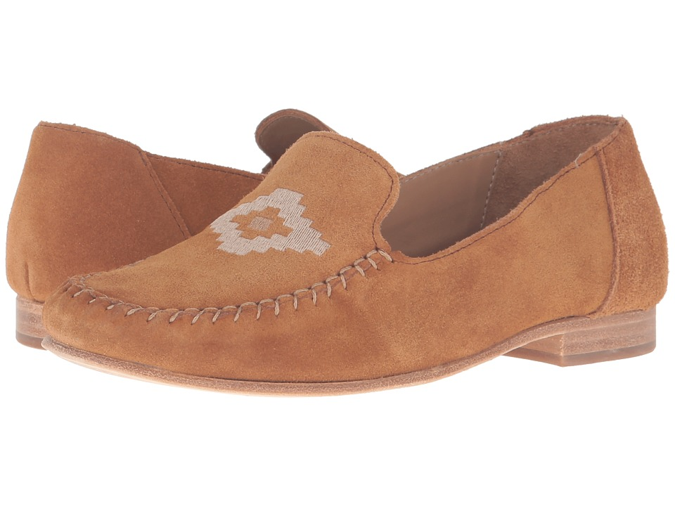 Soludos Loafer Embroidered (Saddle Suede) Women