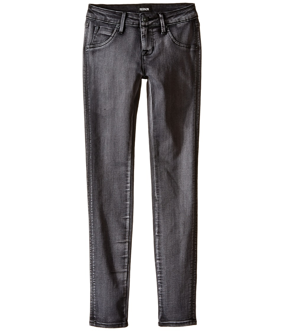 Hudson Kids - Collin Skinny Flap Pocket Skinny in Moonlight (Big Kids) (Moonlight) Girl's Jeans