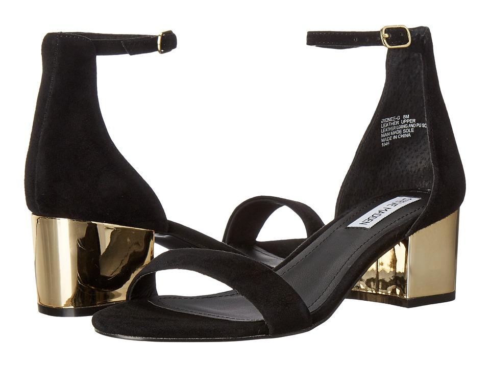 Steve Madden - Irenee-G (Black Suede) Women's Shoes