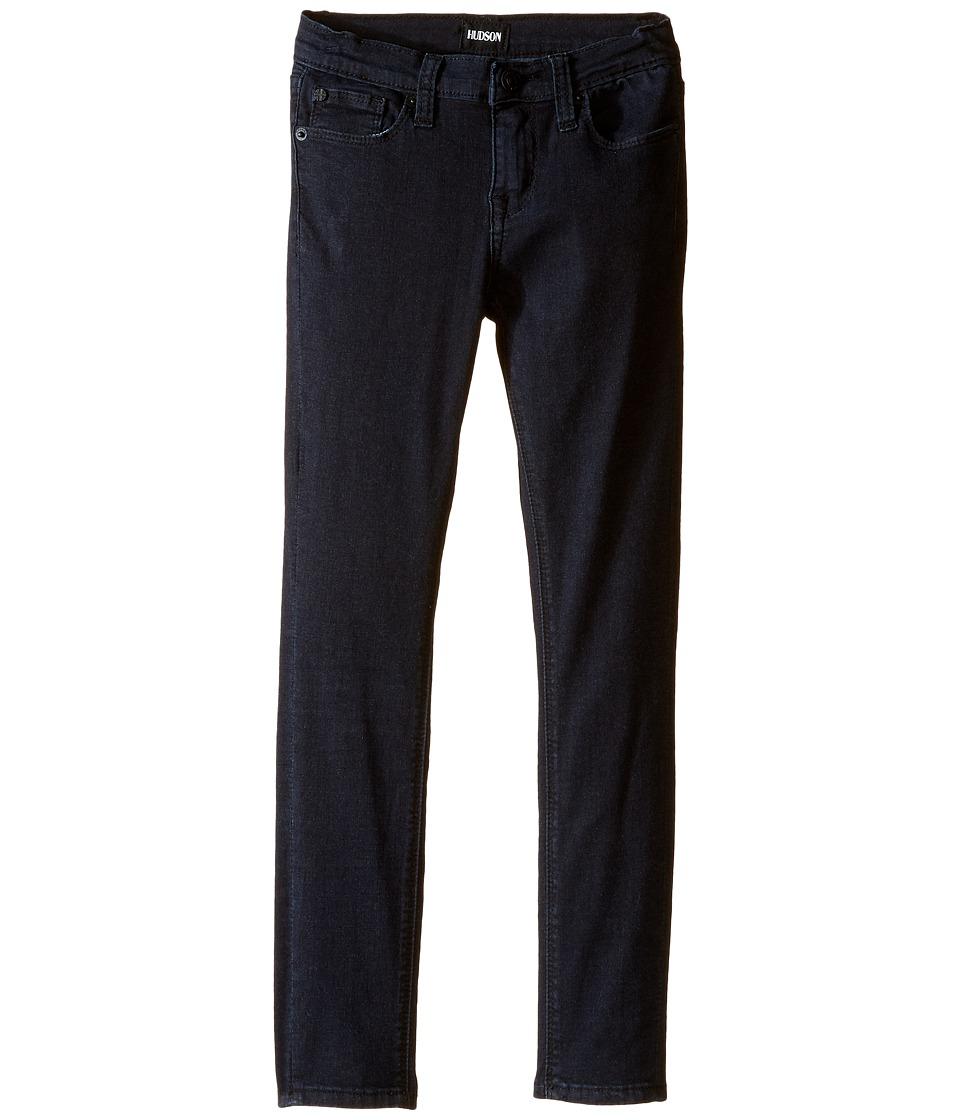 Hudson Kids - Dolly Skinny Five-Pocket Skinny in Blue/Black (Toddler/Little Kids) (Blue/Black) Girl's Jeans