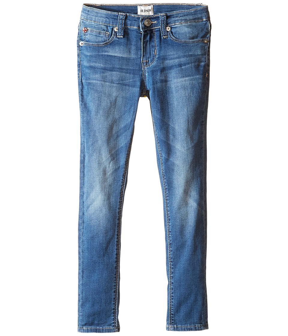 Hudson Kids - Dolly Skinny Five-Pocket Skinny Superstretch in Feather Blue (Toddler/Little Kids) (Feather Blue) Girl's Jeans
