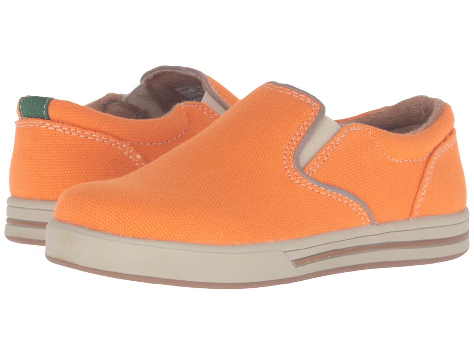 Florsheim Kids - Flipside Slip Jr. (Toddler/Little Kid/Big Kid) (Orange) Boy's Shoes