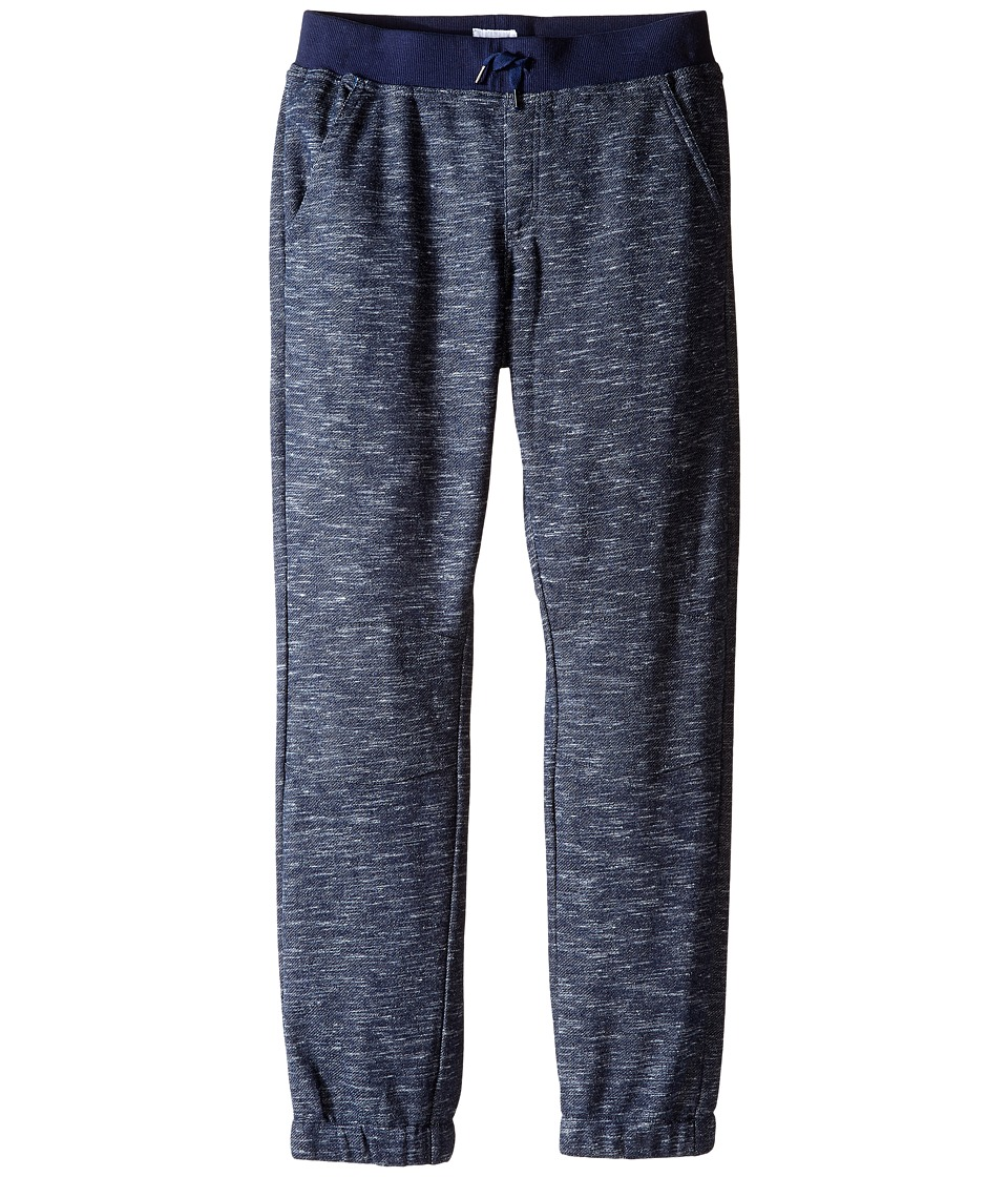 Hudson Kids - Moto Jogger French Terry in Blue Mist (Big Kids) (Blue Mist) Boy's Casual Pants