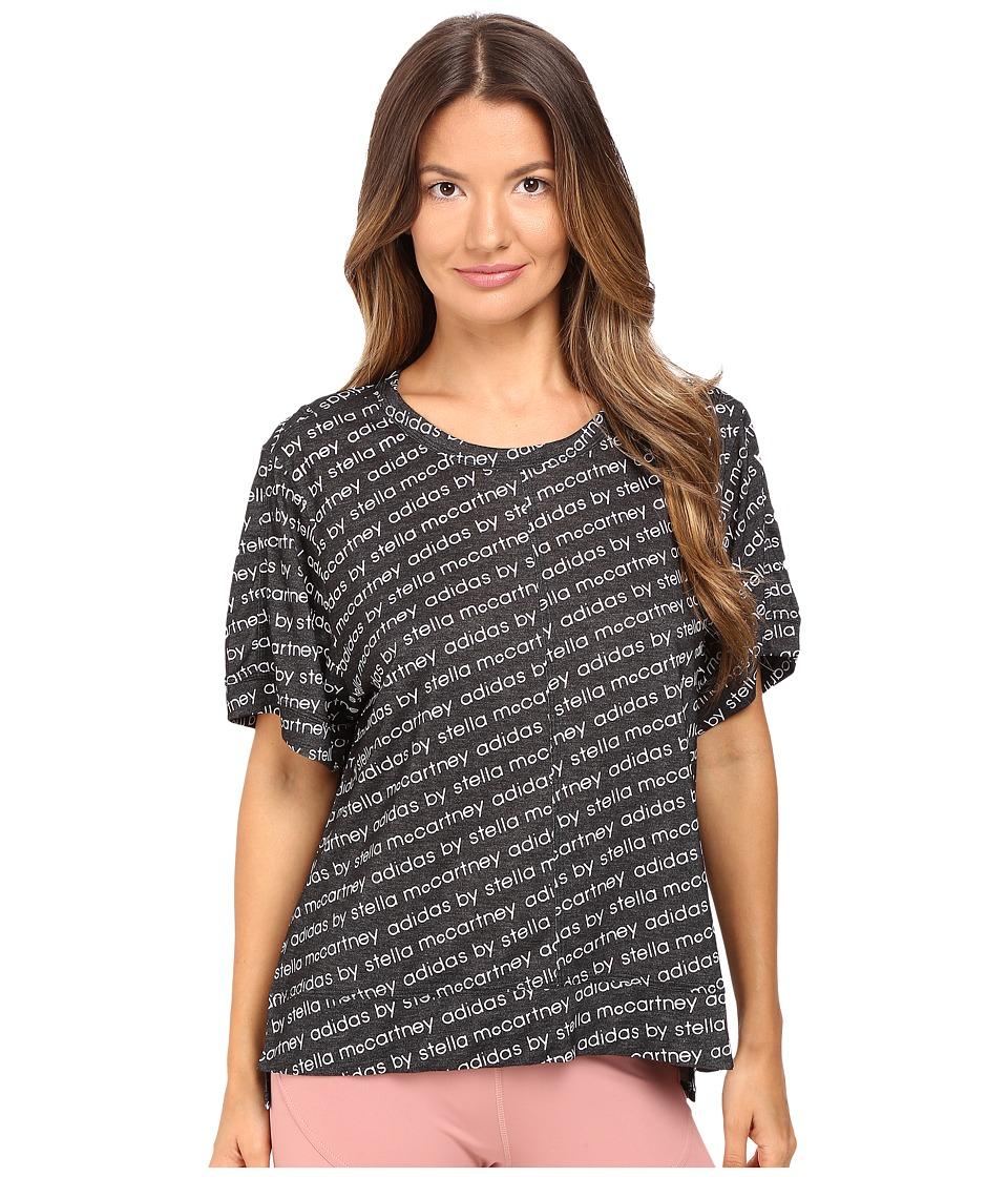 adidas by Stella McCartney - Essentials Logo Tee AX7444 (Black) Women's T Shirt