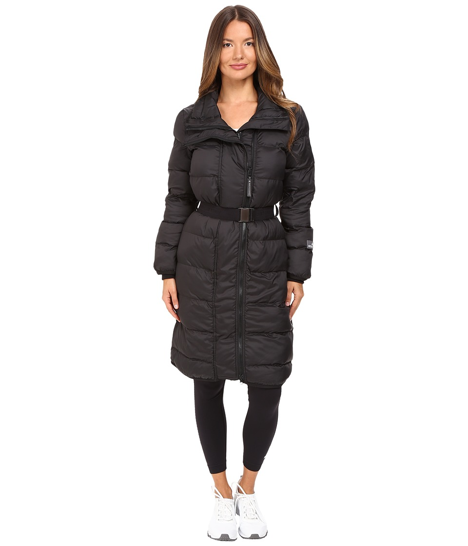 adidas by Stella McCartney - Essentials Long Padded Jacket AX7111 (Black) Women's Coat