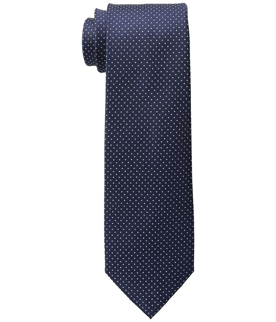 Tommy Hilfiger - Nantucket Pindot (Navy) Ties
