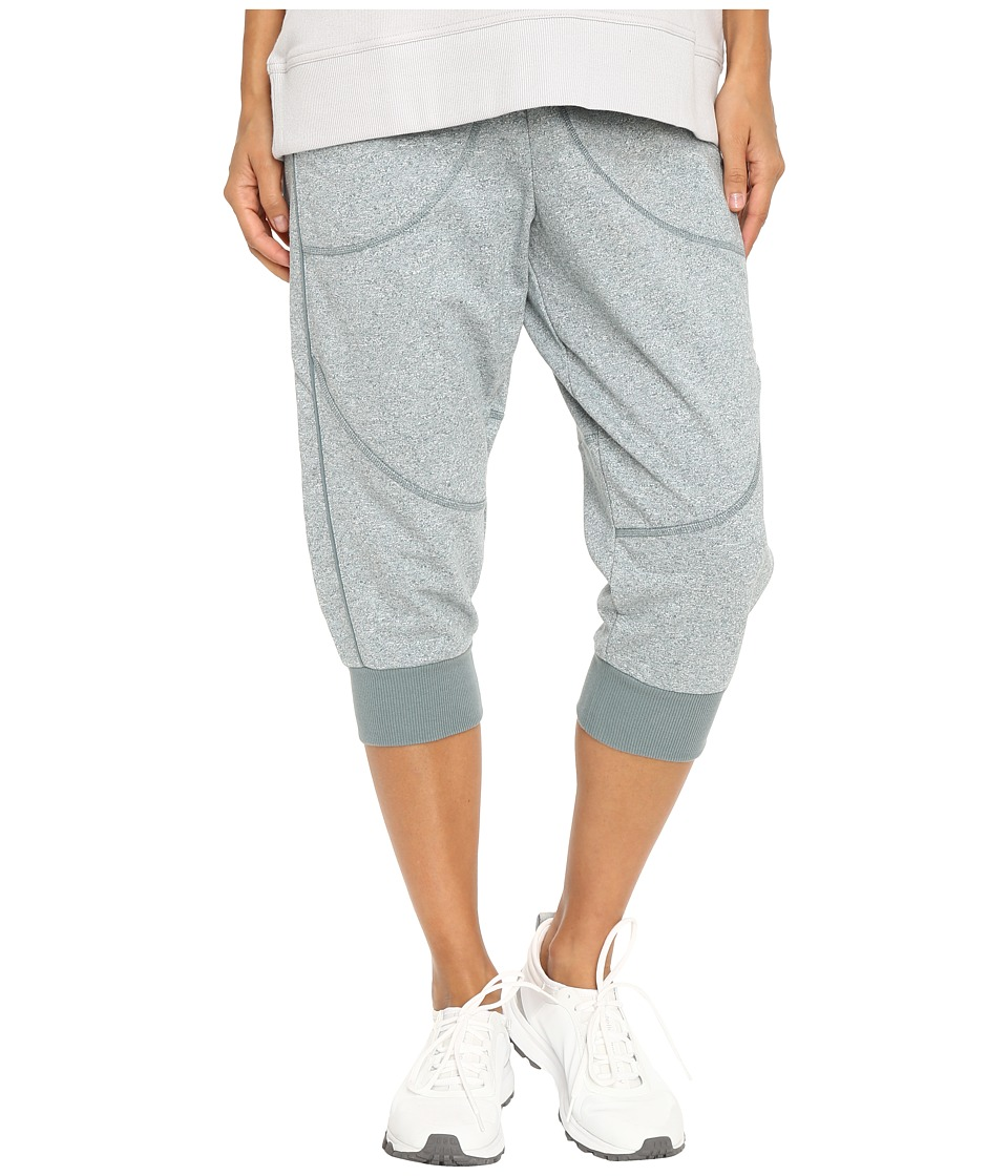 adidas by Stella McCartney - Essentials 3/4 Sweatpants AX7087 (Chalk Blue Melange) Women's Casual Pants