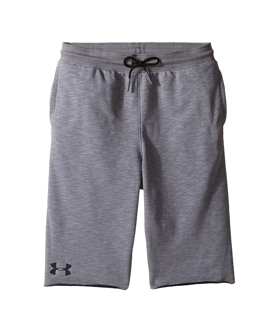 Under Armour Kids - Select Terry Shorts (Big Kids) (Graphite Medium Heather) Boy's Shorts