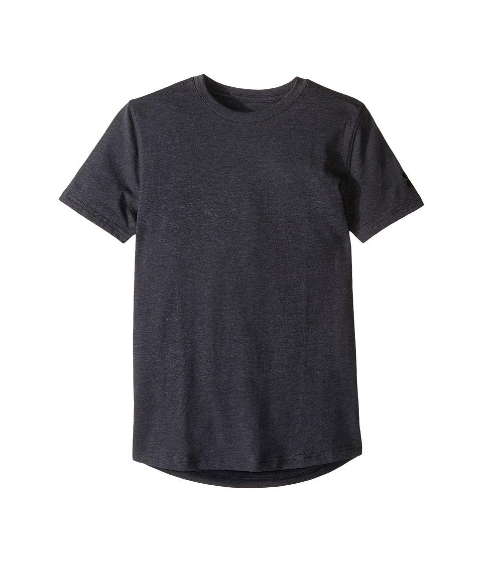 Under Armour Kids - Extend The Game Short Sleeve Tee (Big Kids) (Black Medium Heather) Boy's T Shirt
