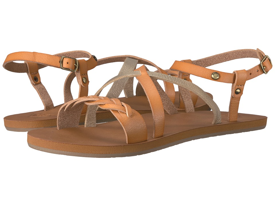 Roxy - Britney (Tan) Women's Sandals