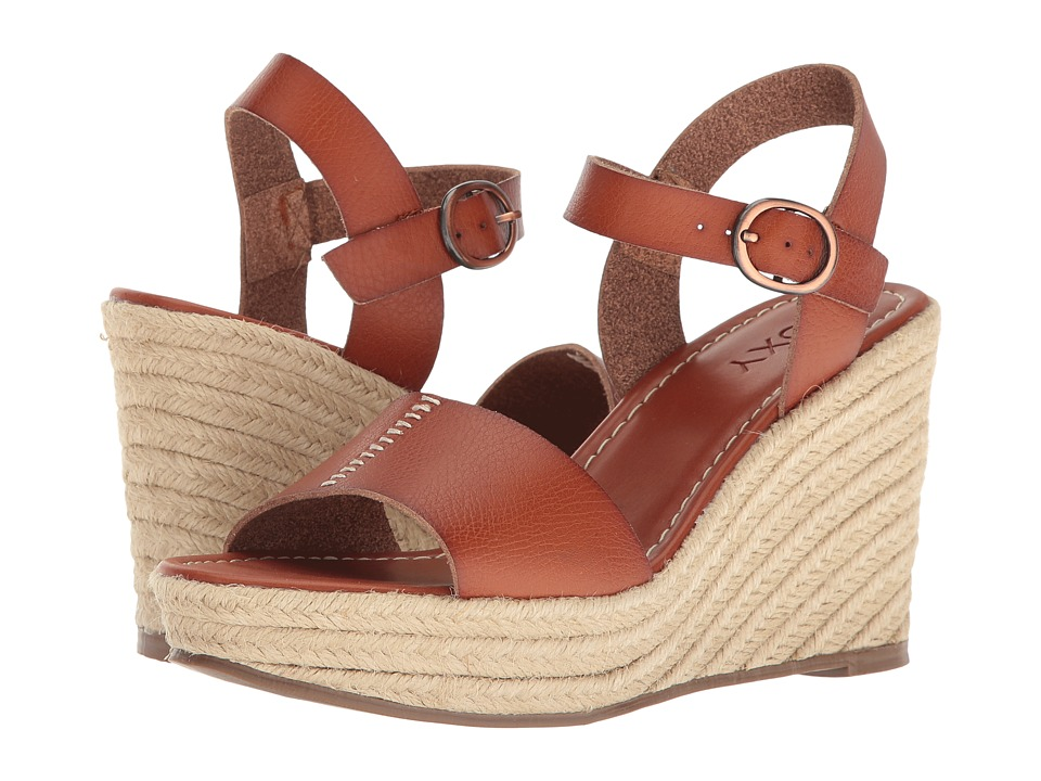 Roxy - Elena (Brown) Women's Wedge Shoes