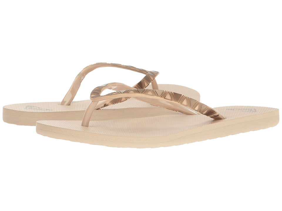 Roxy - Bermuda Molded (Tan) Women's Sandals