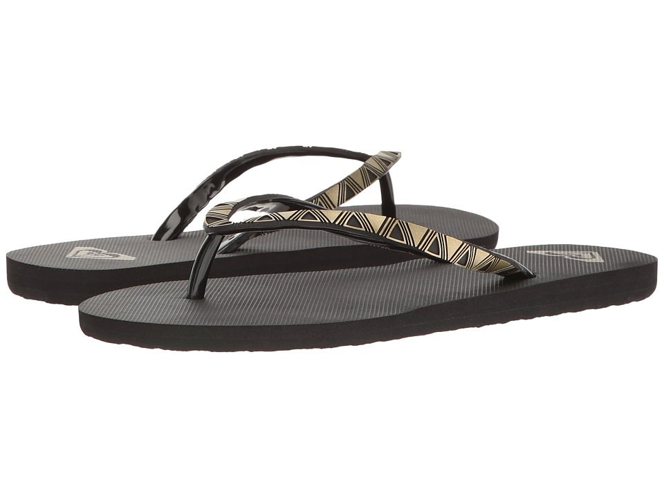 Roxy - Bermuda Molded (Black) Women's Sandals