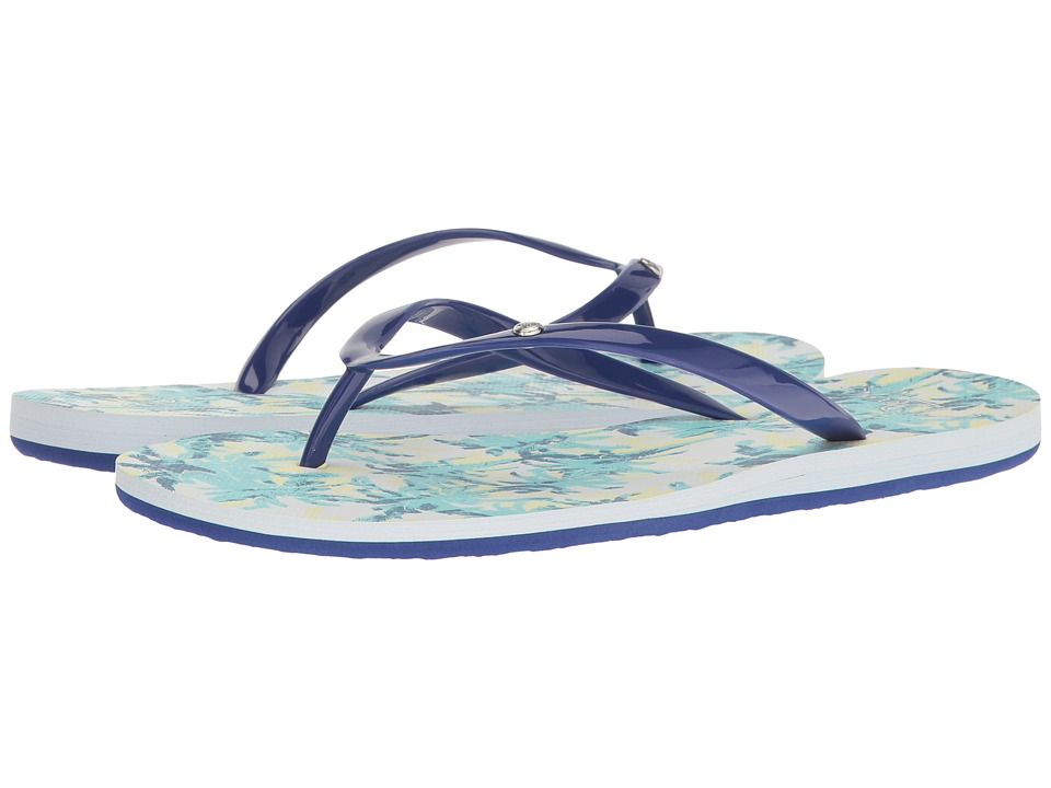 Roxy - Portofino (Blue Print) Women's Sandals