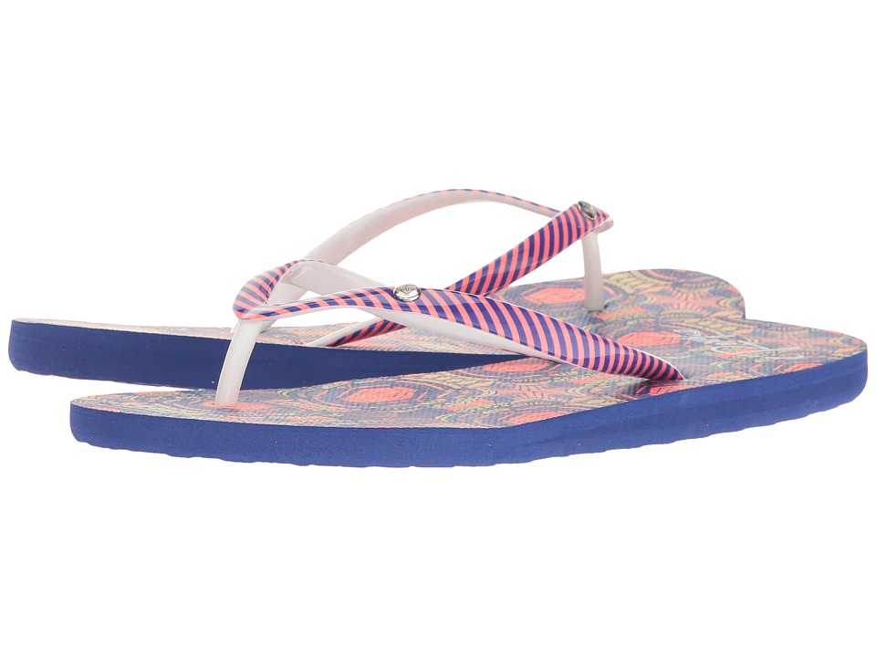 Roxy - Portofino (Red/Blue) Women's Sandals