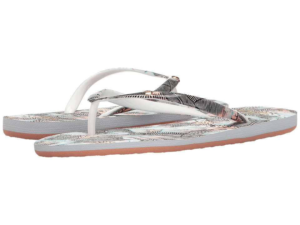 Roxy - Portofino (Dark Grey) Women's Sandals