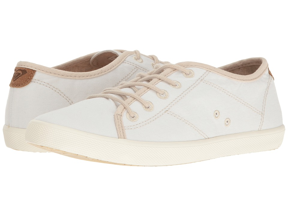 Roxy - Memphis (White) Women's Lace up casual Shoes