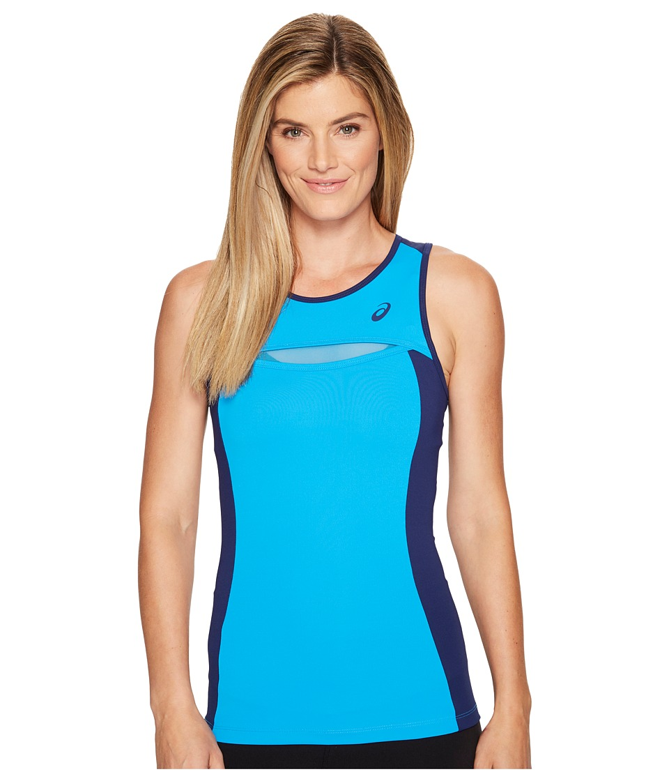 ASICS - Tennis Club Tank Top (Diva Blue) Women's Sleeveless