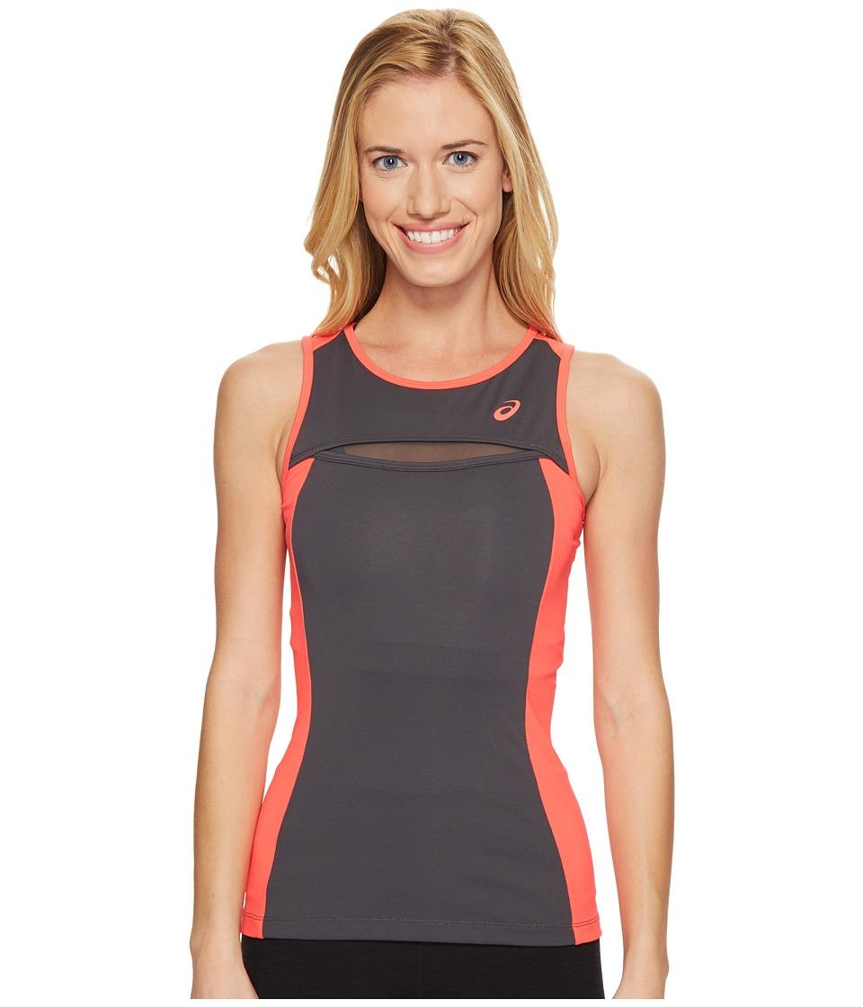 ASICS - Tennis Club Tank Top (Dark Grey) Women's Sleeveless