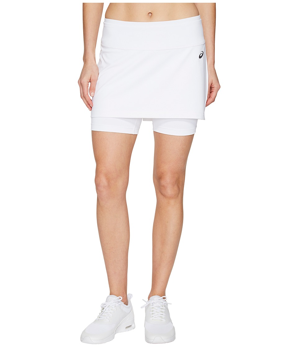 ASICS Tennis Club Booty Skort (Real White) Women