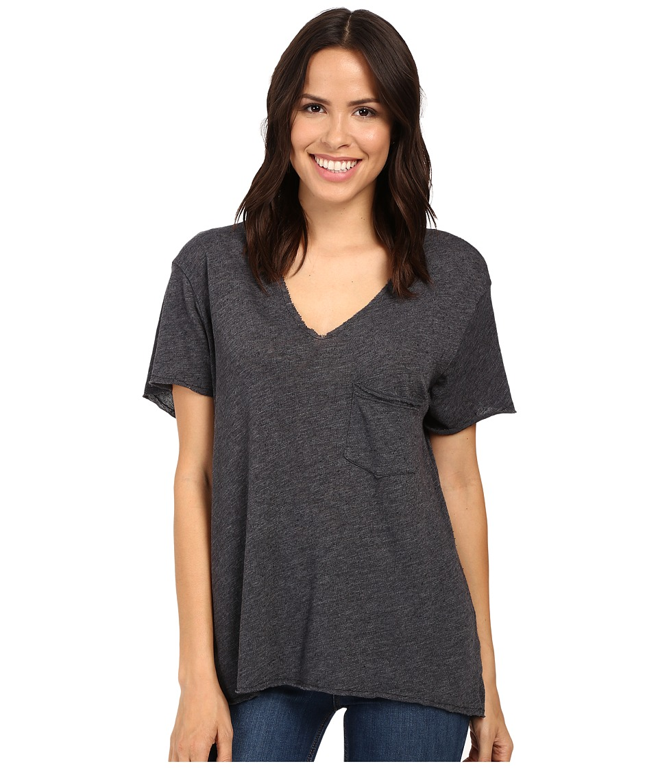 Project Social T - Drewry Pocket Tee (Coal) Women's T Shirt