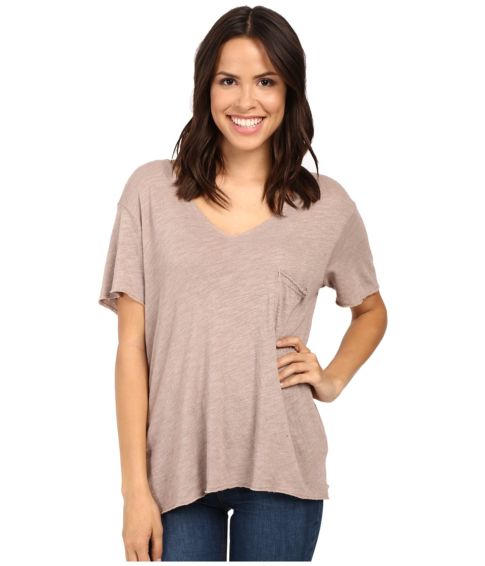Project Social T - Drewry Pocket Tee (Sepia) Women's T Shirt