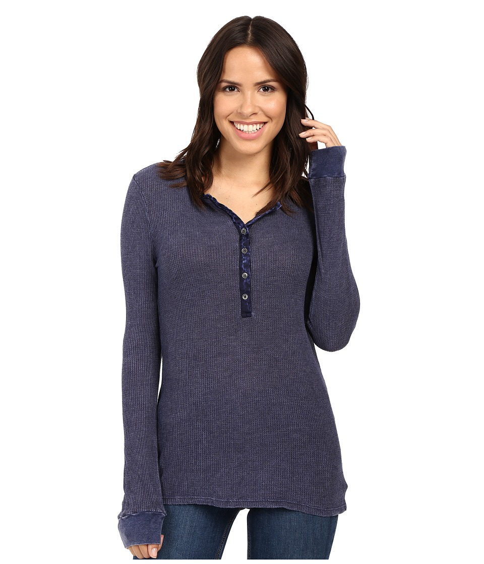 Project Social T - Layer Me Thermal (P. Moody Blue) Women's Sweatshirt