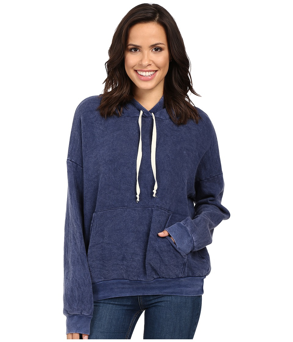 Project Social T - Marty Pocket Hoodie (MW Moody Blue) Women's Sweatshirt