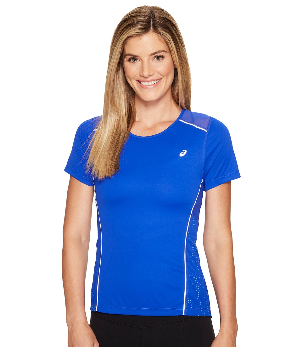 ASICS Lite-Show Short Sleeve Tee (New Blue) Women