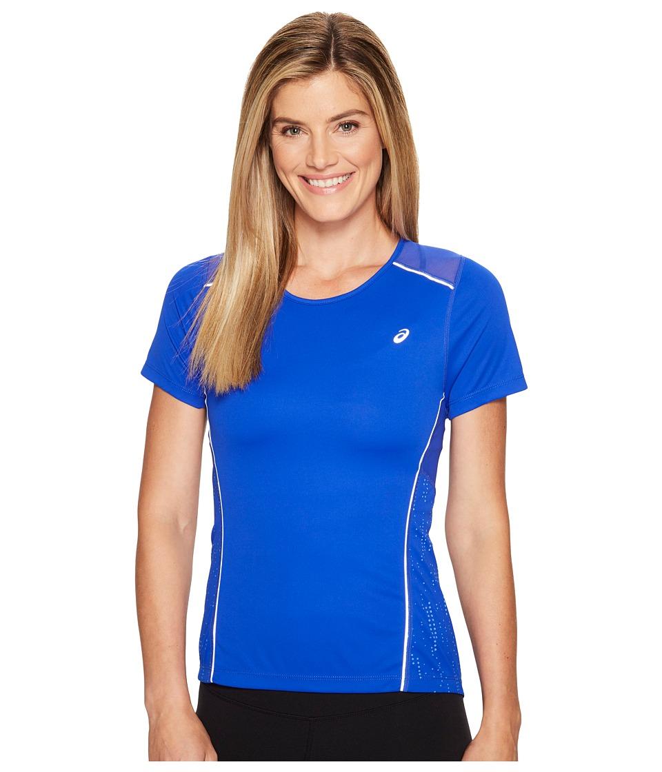 ASICS - Lite-Show Short Sleeve Tee (New Blue) Women's T Shirt