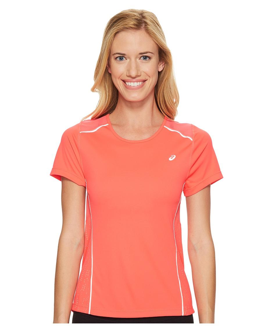 ASICS - Lite-Show Short Sleeve Tee (Diva Pink) Women's T Shirt
