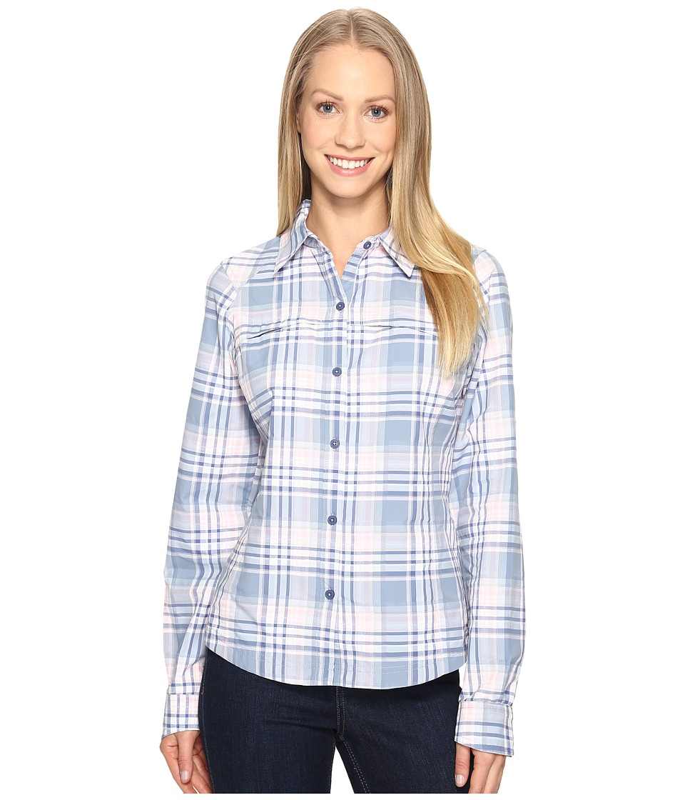 Columbia - Silver Ridgetm Plaid L/S (Beacon Dobby Plaid) Women's Long Sleeve Button Up
