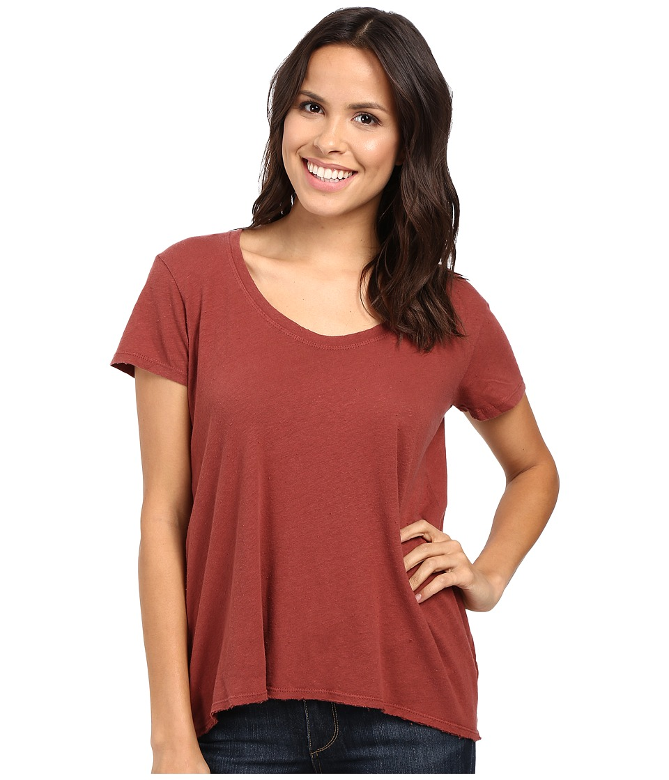 Project Social T - Easy Tee (Chestnut) Women's T Shirt
