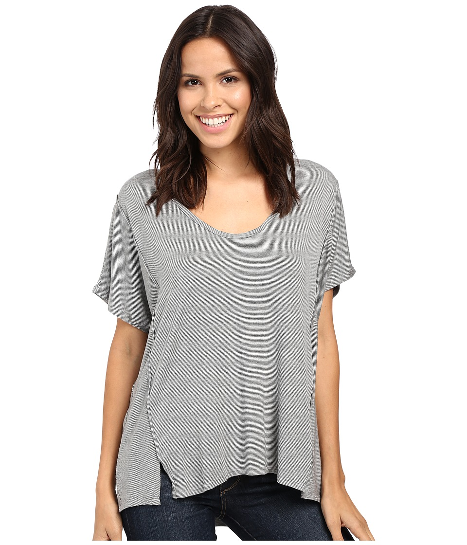 Project Social T - Jaxon Dolman (Grey/Charcoal) Women's T Shirt
