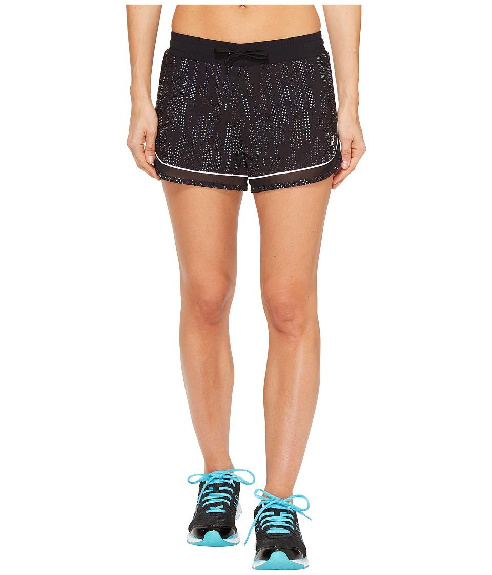 ASICS - Lite-Show 3-N-1 Shorts (Raindrop Print) Women's Shorts