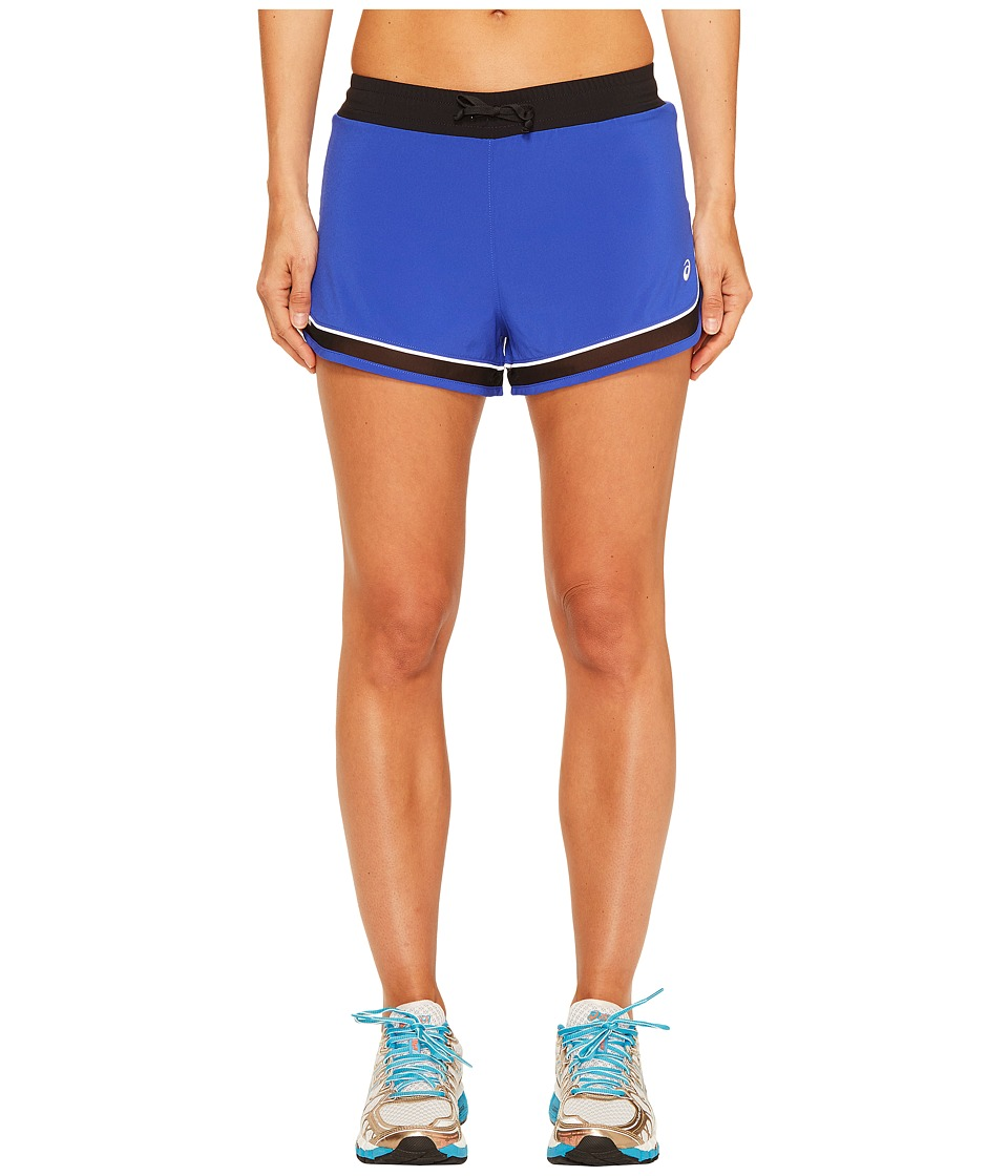ASICS - Lite-Show 3-N-1 Shorts (New Blue) Women's Shorts