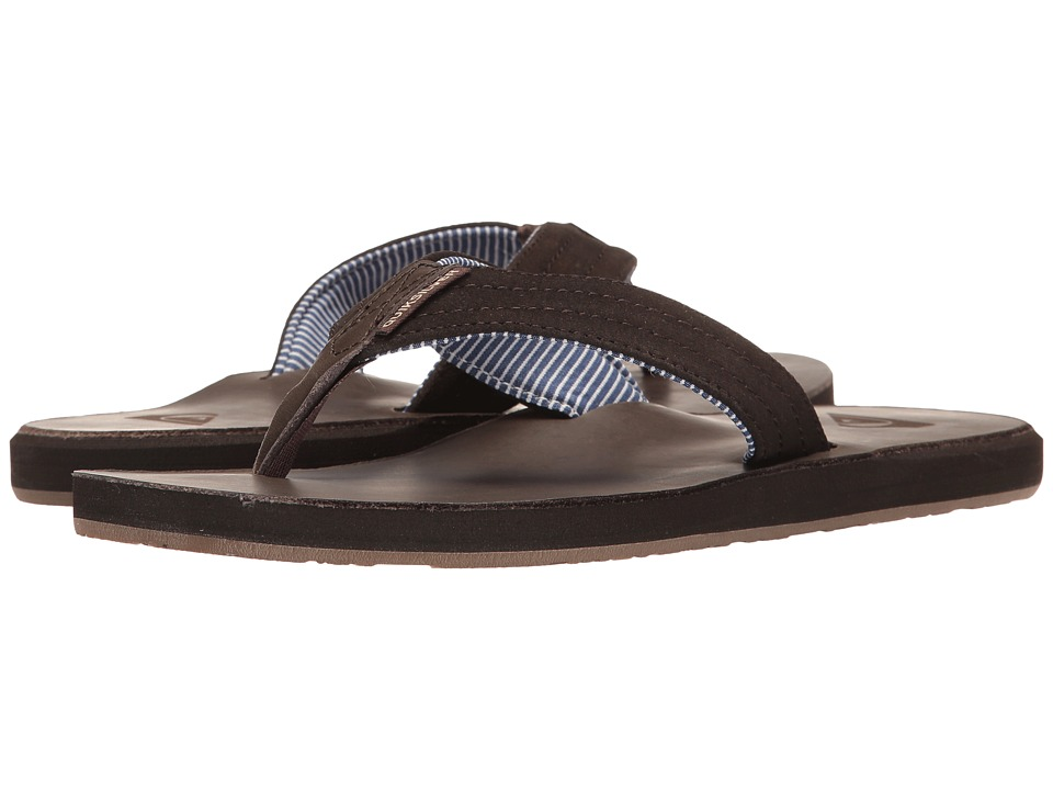 Quiksilver - Carver Crew (Demitasse Solid) Men's Sandals