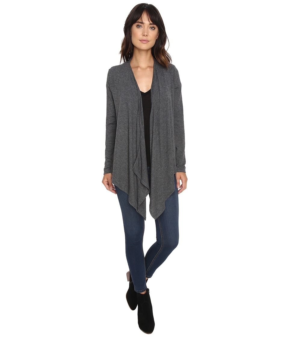 Project Social T - Waterfall Cardigan (Grey) Women's Sweater