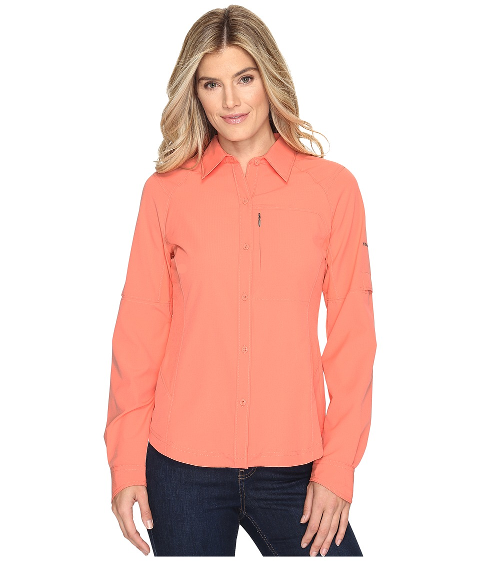 Columbia - Silver Ridgetm L/S Shirt (Lychee) Women's Long Sleeve Button Up