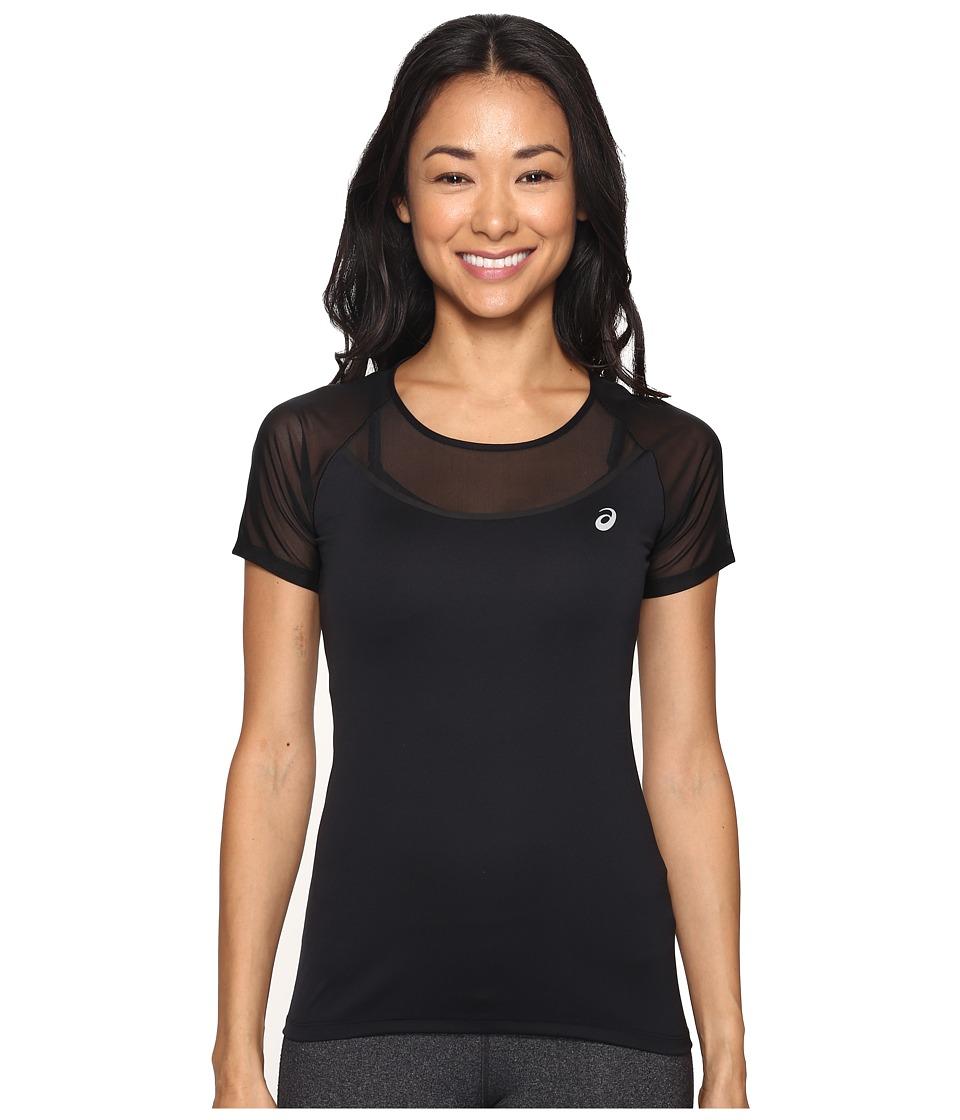 ASICS - Elite Short Sleeve Tee (Performance Black) Women's T Shirt