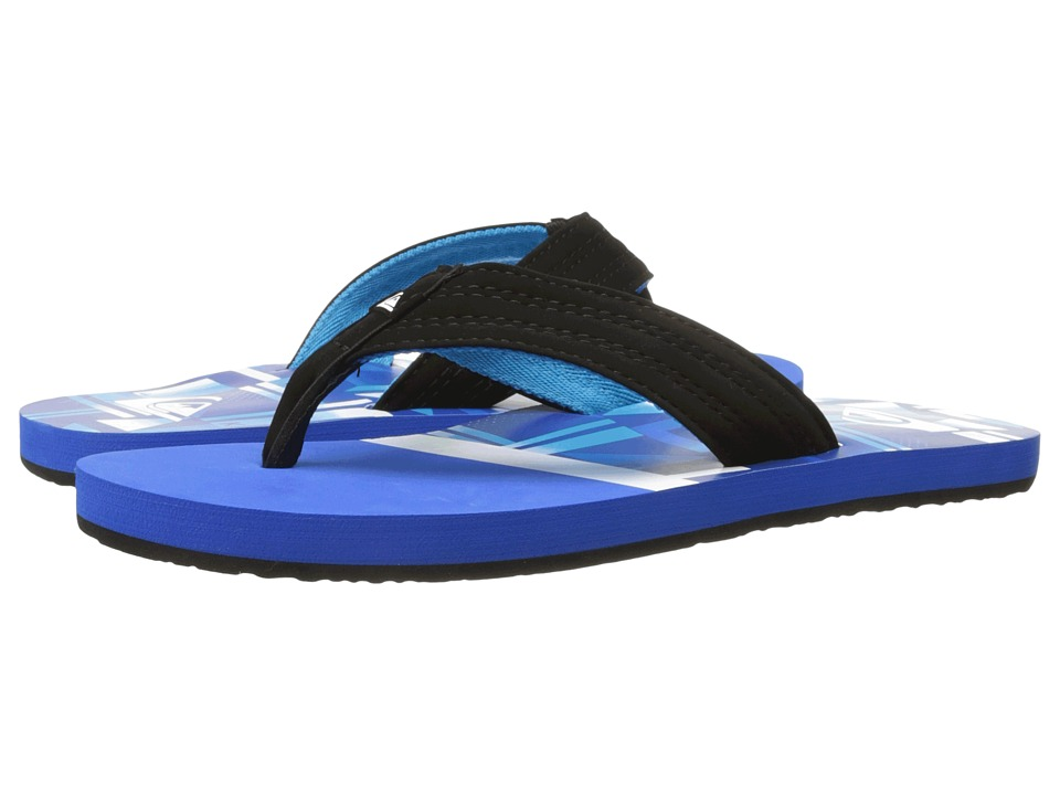 Quiksilver - Basis (Blue/Blue/Black) Men's Sandals