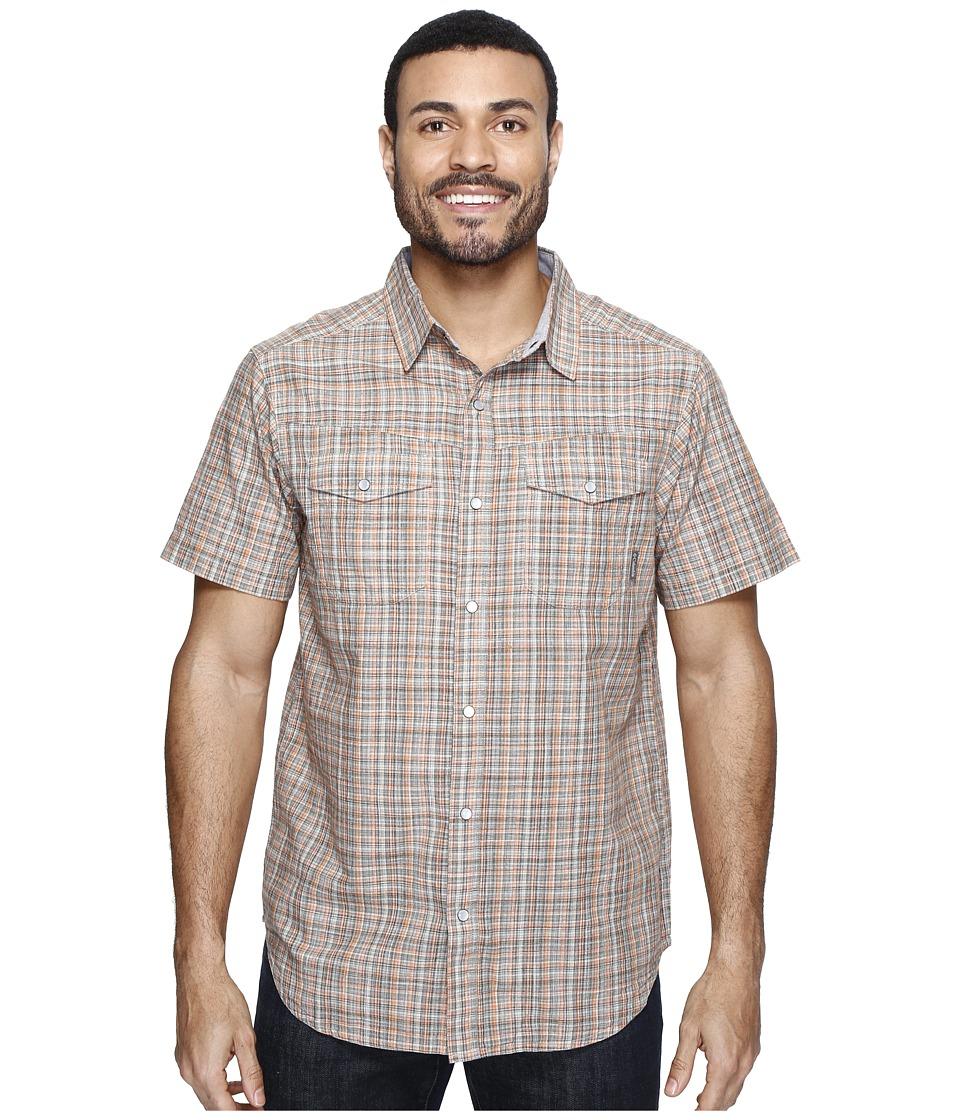 Columbia - Leadville Ridgetm Short Sleeve Shirt (Valencia Plaid) Men's Short Sleeve Button Up