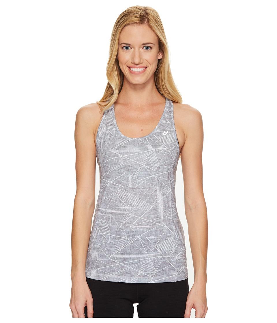 ASICS - Emma Racerback Tank Top (Grey Skyline Print) Women's Sleeveless