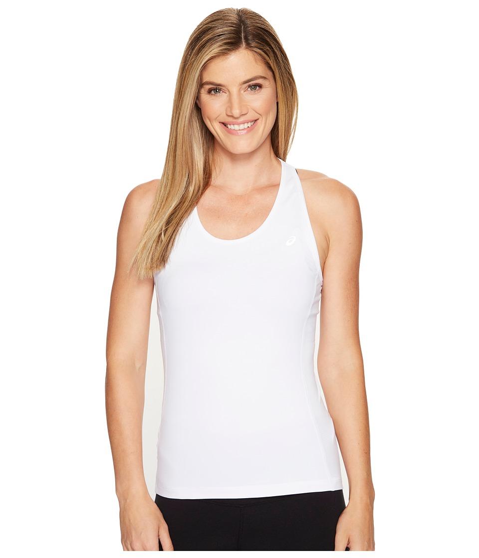 ASICS - ASX Dry Tank Top (Real White) Women's Sleeveless