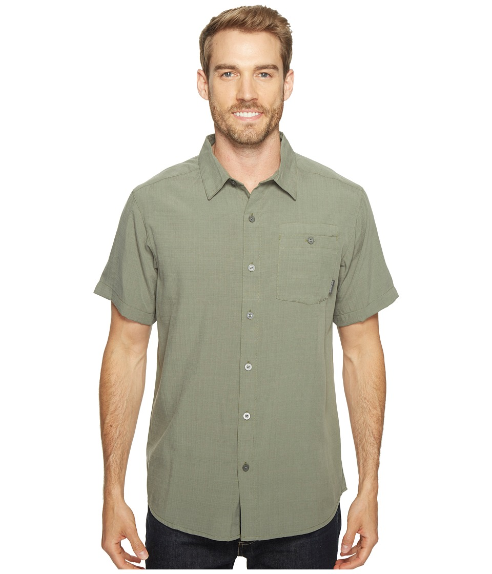 Columbia - Mossy Trailtm S/S Shirt (Cypress) Men's Short Sleeve Button Up