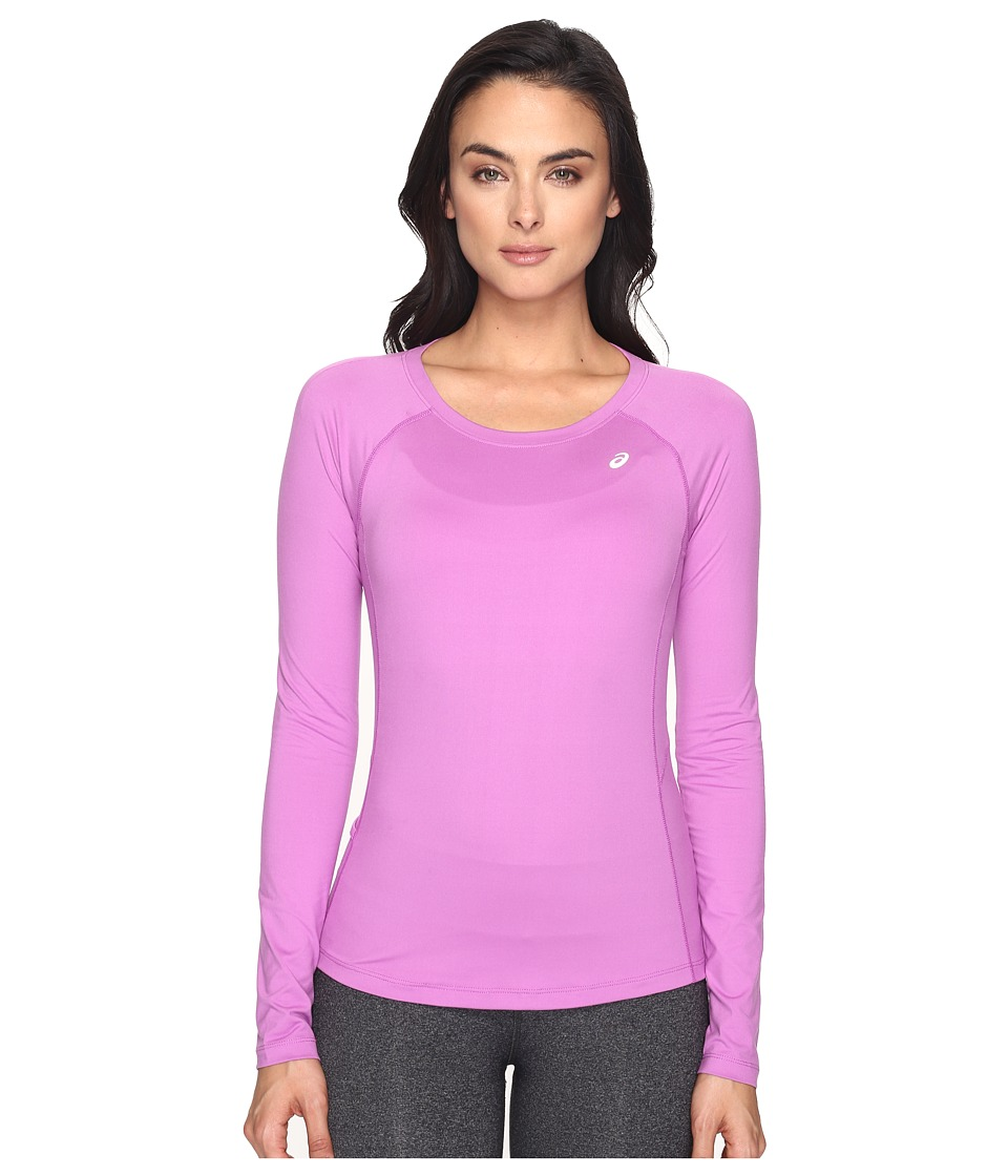 ASICS - ASX Dry Long Sleeve Top (Orchid) Women's Long Sleeve Pullover