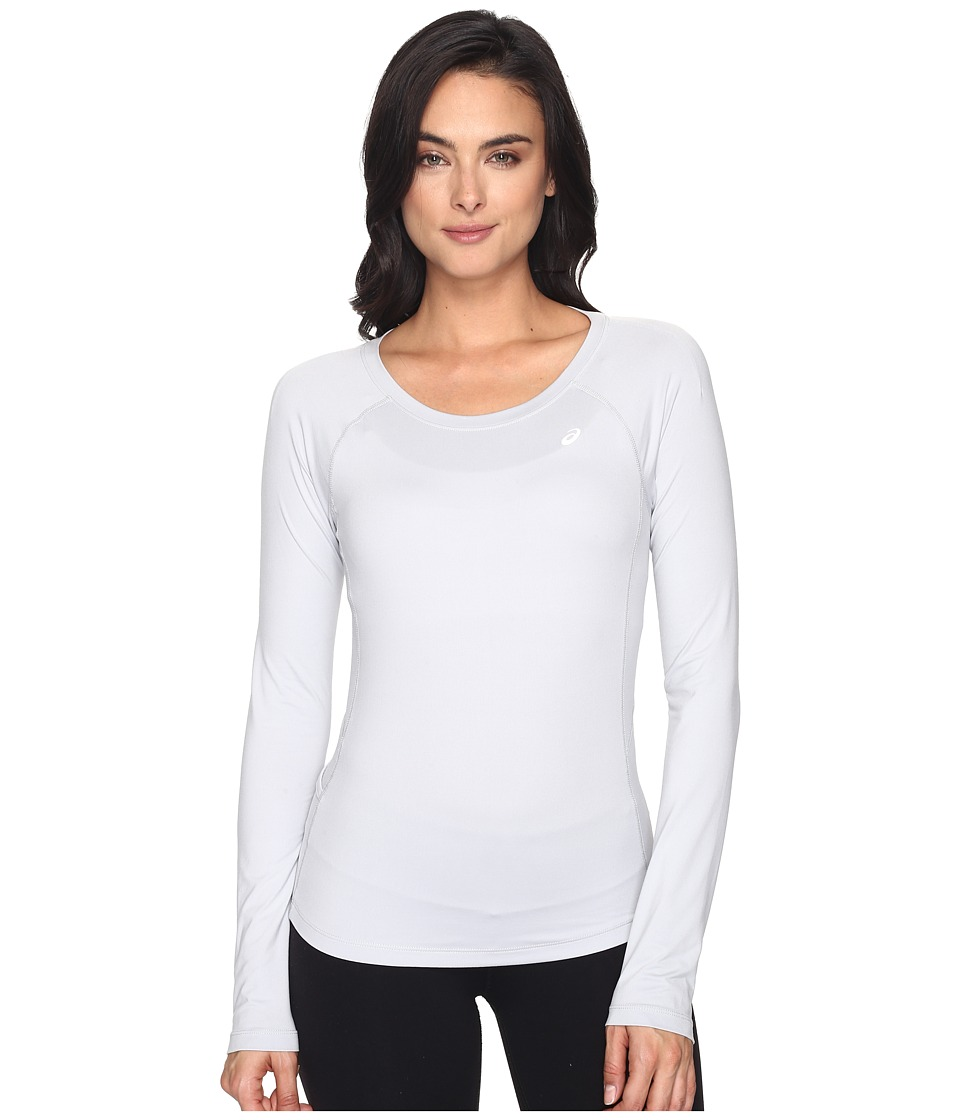 ASICS - ASX Dry Long Sleeve Top (Mid Grey) Women's Long Sleeve Pullover
