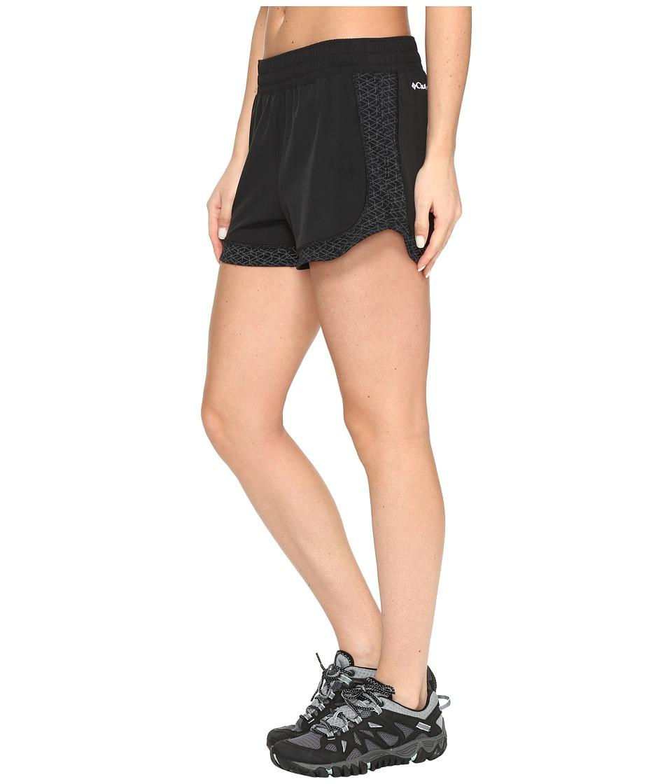 Columbia - Trail Flash Shorts (Black) Women's Shorts