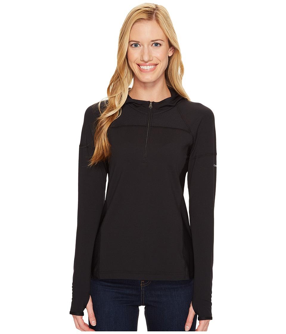 Columbia - Solar Ridge Hoodie (Black) Women's Sweatshirt
