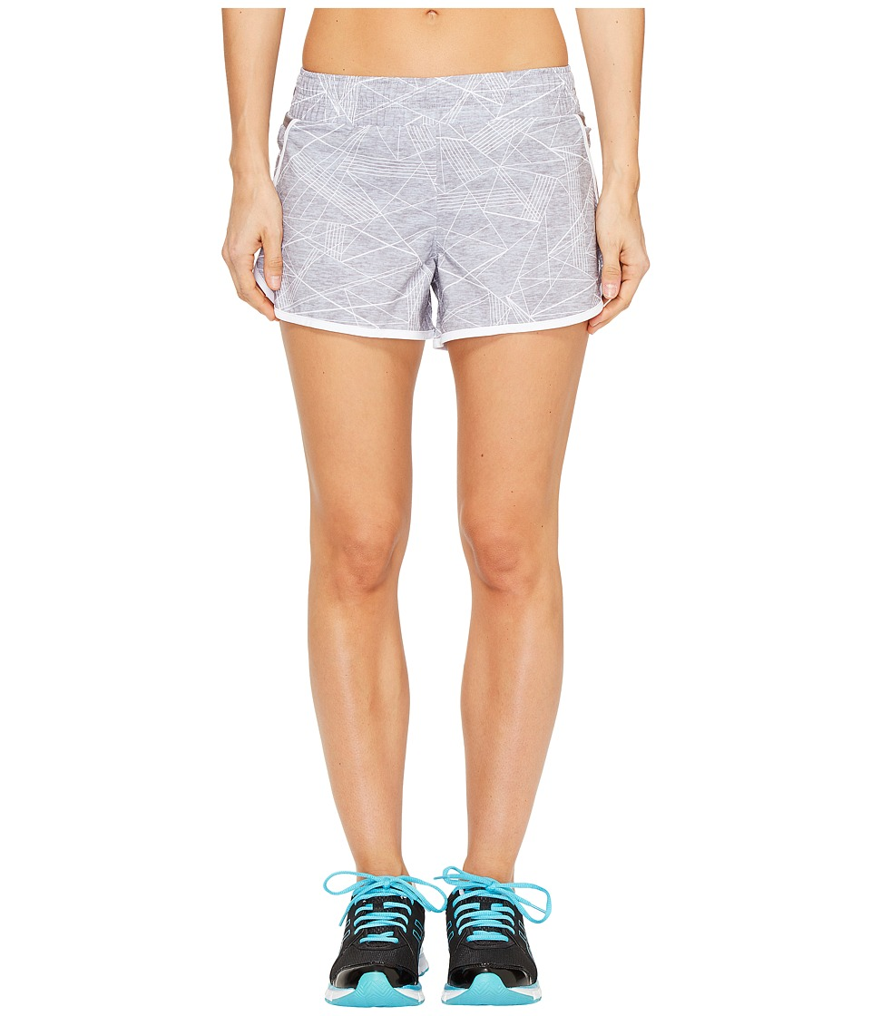 ASICS - Distance Shorts (Grey Skyline Print) Women's Shorts